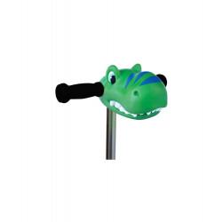 Cabeza Dinosaurio Verde