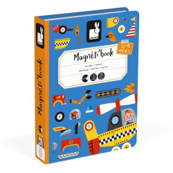 Libro Magnético Bólidos