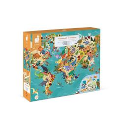 Puzzle Dinosaurios del Mundo