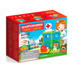 Magformers Town Set Hospital