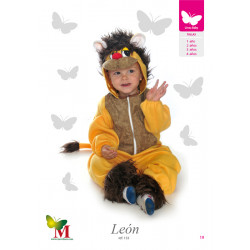 Disfraz Leon Talla - 2A