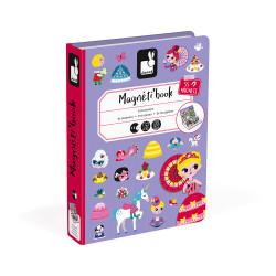 Libro Magnético Princesas