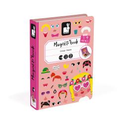 Libro Magnético Caras Chica