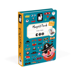 Libro Magnético Caras Chico