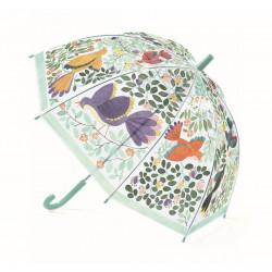 Paraguas Flores y Pájaros