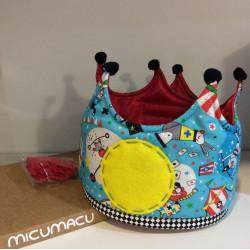 "Corona ""Circo"" cumpleaños"