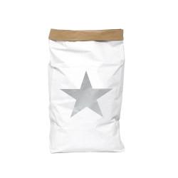 Saco Papel Estrella Plata