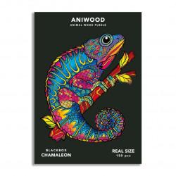 Puzzle Camaleon Aniwood M
